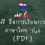 สื่อการเรียนการสอนภาษาไทย ป.6